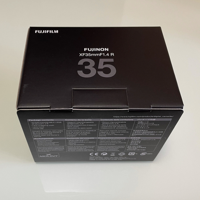 富士フイルム(フジフイルム)のFUJIFILM フジノンレンズ XF35mmF1.4 R スマホ/家電/カメラのカメラ(レンズ(単焦点))の商品写真