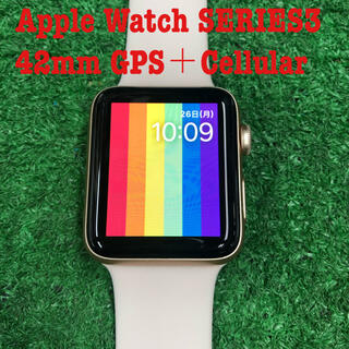 Apple Watch - Apple Watch SERIES3 42mm GPS+Cellular
