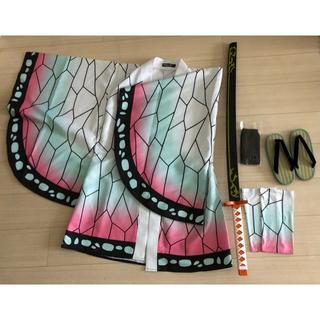 胡蝶しのぶ コスプレ(日輪刀・羽織・脚絆・草履・足袋)(衣装一式)