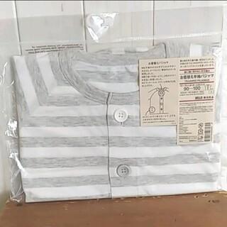 ムジルシリョウヒン(MUJI (無印良品))の未開封 新品 無印良品 MUJI 半袖パジャマ 90〜100(パジャマ)