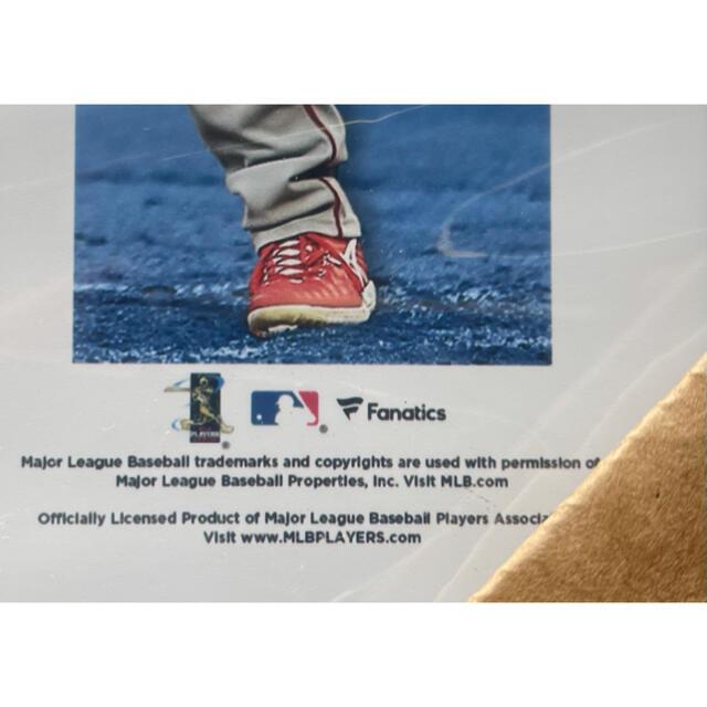 エンゼルス 大谷翔平 二刀流 フォトミント フォトフレーム フォトプラーク スポーツ/アウトドアの野球(記念品/関連グッズ)の商品写真