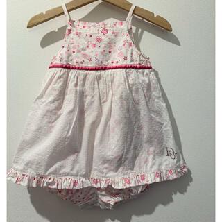 ベビーディオール(baby Dior)の【baby Dior ワンピースロンパース 12M/80cm】(ワンピース)