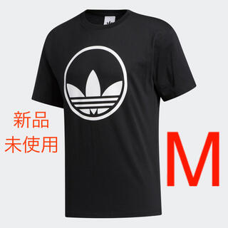 adidas - 【新品未使用】 アディダス サークル トレフォイル  半袖Tシャツ ブラック