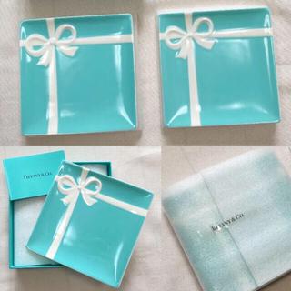 Tiffany & Co. - ティファニーTiffany&Co. 新品未開封 袋リボン付ブルーリボン プレート