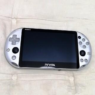 PlayStation Vita - psvita 2000 本体 シルバー