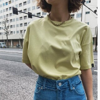 Ameri VINTAGE - アメリヴィンテージ  LUSTER SMOOTH TEE