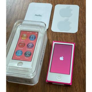 Apple - ipod nano PINK 美品