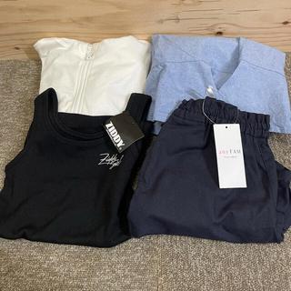 エニィファム(anyFAM)の女の子 服 130 まとめ売り(ワンピース)