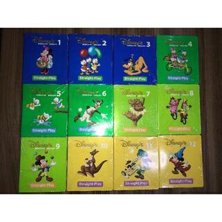 Disney - DWE ディズニーワールドオブイングリッシュ ストレートプレイ DVD 12枚