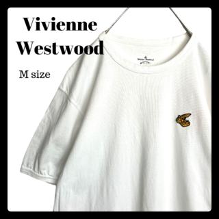 ヴィヴィアンウエストウッド(Vivienne Westwood)のヴィヴィアンウエストウッド アングロマニア Tシャツ 刺繍 バックプリント(Tシャツ/カットソー(半袖/袖なし))