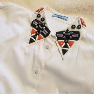 PRADA - prada パーツシャツ