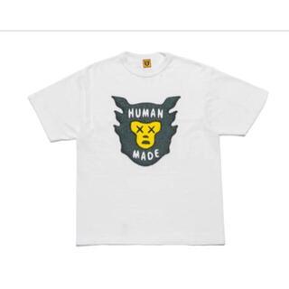 "HUMAN MADE KAWS T-Shirt #1 ""White"" L"