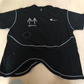 OFF-WHITE - offWhite NIKE コラボ メンズTシャツ 新品 オーバーサイズ XL