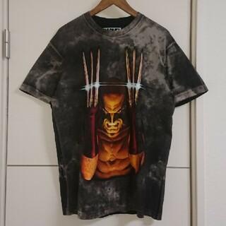 MARVEL - MARVEL アメコミTシャツ キャラクター古着 ビッグプリント ウルヴァリン