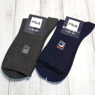FILA - FILA フィラ レディース ソックス 2足セット