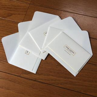 ルイヴィトン(LOUIS VUITTON)のルイヴィトン メッセージカード&ミニ封筒 5セット(カード/レター/ラッピング)