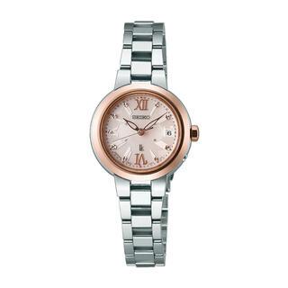 セイコー(SEIKO)の☆超美品☆SEIKO LUKIA セイコー ルキア ソーラー電波時計 腕時計(腕時計)