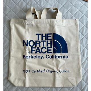 THE NORTH FACE - ノースフェイス コットン トートバッグ ネイビー ブルー