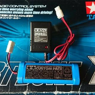 タミヤ純正バッテリー+充電器