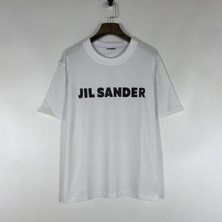 Jil Sander - 【新品】JIL SANDER ロゴ プリント コットン TシャツL