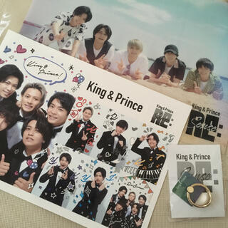 Johnny's - King & Prince Re:sense 特典全3点