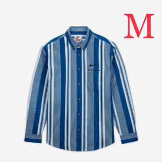 Supreme - Supreme / Nike® Cotton Twill Shirt blue