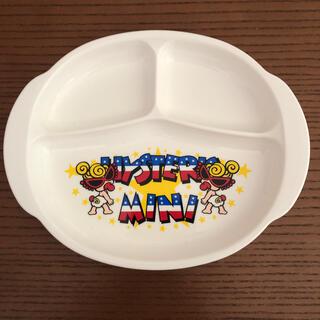 ヒステリックミニ(HYSTERIC MINI)のヒスミニ ランチプレート 皿(プレート/茶碗)