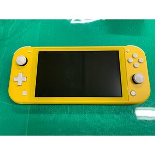 Nintendo Switch - NINTENDO SWITCH LITEニンテンドースイッチ  ライト イエロー