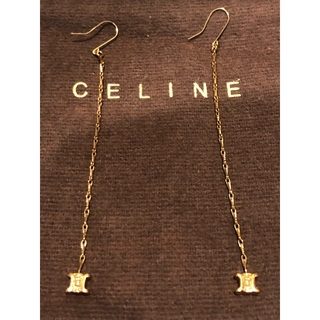 celine - 値下げ レア CELINE セリーヌ マカダムピアス