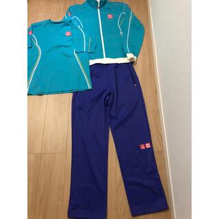 ユニクロ(UNIQLO)のユニクロ テニス ウェア 錦織 ジャケット シャツ パンツ ジャージ(ウェア)