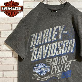 ハーレーダビッドソン(Harley Davidson)の90s 古着 ハーレーダビッドソン  バックプリント ビッグプリント ゆるだぼ(Tシャツ/カットソー(半袖/袖なし))