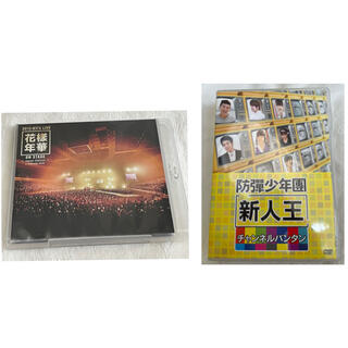 防弾少年団(BTS) - BTS 新人王 DVD + 花様年華 2015 Blu-ray