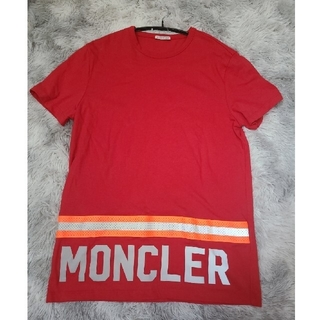 MONCLER - 1度使用モンクレール Tシャツ 反射文字 Mサイズ