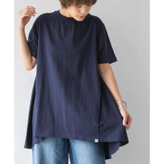 coen - coen バックフレアTシャツ