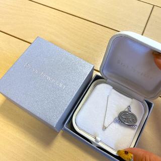 STAR JEWELRY - 美品 Star Jewelry ムーンセッティング ホワイトゴールド ネックレス
