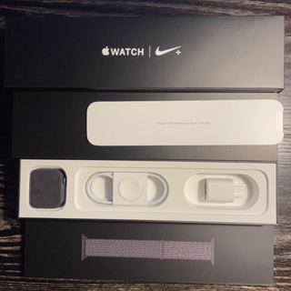 Apple - AppleWatch Series4 NIKE 44mm MU7J2J/A