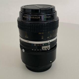 Nikon - nikkor 55mm f3.5 +エクステンション+フィルター