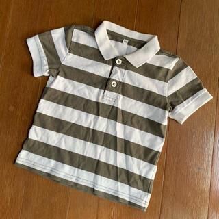 ムジルシリョウヒン(MUJI (無印良品))の無印良品 ボーダーポロシャツ(Tシャツ/カットソー)