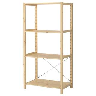 IKEA - 美品★IKEA★イーヴァル 収納棚 ラック パイン材 イケア IVAR