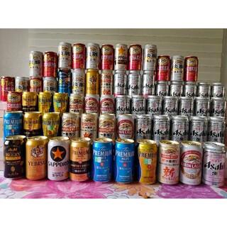 ①ビ-ル45本と発泡酒19本の合計64本 おつまみもあるよ