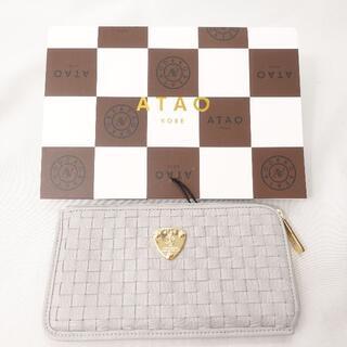 ATAO - ATAO スリモメッシュ/財布 レディース ライトグレー