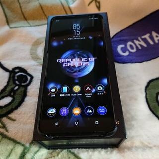 ASUS - SIMFREE ROG Phone 5 5G128GB 8RAM 海外版