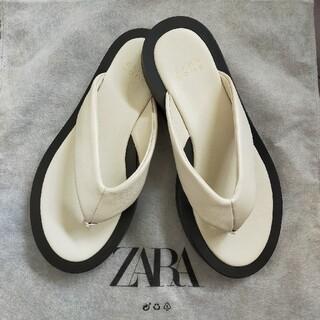 ザラホーム(ZARA HOME)のZARAHOME サンダル 38サイズ(サンダル)