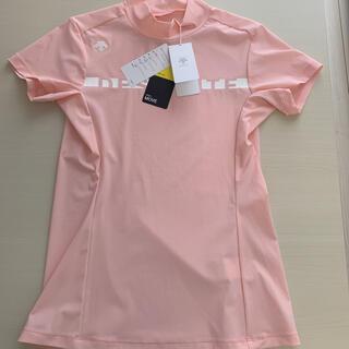 DESCENTE - 【タグ付き新品】デサントゴルフ モックネックシャツ Lサイズ