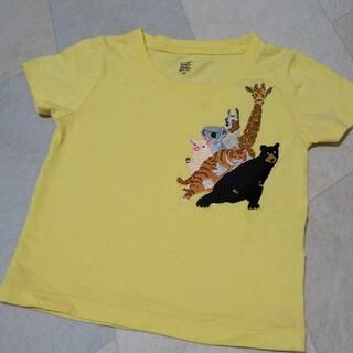 Design Tshirts Store graniph - graph グラニフ チューチューアニマルズ 半袖Tシャツ 黄色