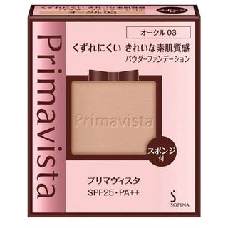 Primavista - プリマヴィスタ きれいな素肌質感パウダーファンデーション レフィル オークル03