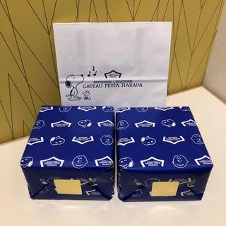 スヌーピー(SNOOPY)のハラダ ラスク スヌーピーコラボ 2缶(菓子/デザート)