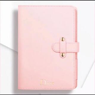 ディオール(Dior)のディオール Dior 手帳 ノート ノートブック 非売品 ノベルティ ピンク (ノート/メモ帳/ふせん)