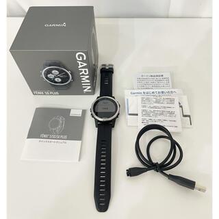 ガーミン(GARMIN)のGARMIN ガーミン fenix 5s Plus スポーツ GPSウォッチ(腕時計(デジタル))