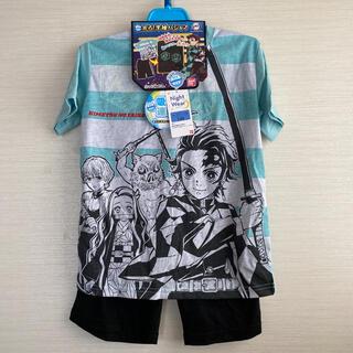 バンダイ(BANDAI)の光るパジャマ 半袖パジャマ 鬼滅の刃 130サイズ    男の子(パジャマ)